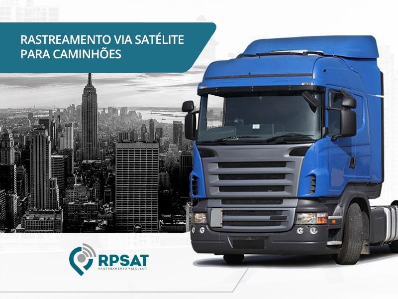 Rastreamento Via Satélite para Caminhões